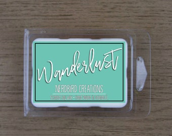 Wanderlust 3oz choose your own scent soy wax tart