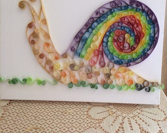 Quilling - pictures on canvas wall - animals