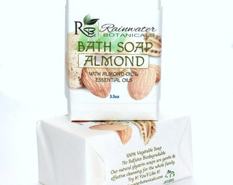 Sweet Almond Soap Vegan Palm Free