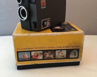 Vintage Kodak super 8 movie camera instamactic M14