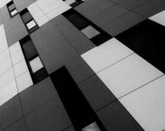 Campus -  fine art monochrome photography