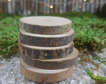 Wood stepping stones etsy fairy garden wood slice stepping stone natural wood cutouts fairy garden supply terrarium accessory workwithnaturefo