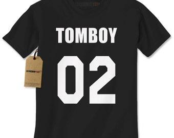 Men's Tomboy 02 Shirt Handmade T-Shirt #1190