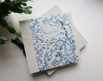 GIFT for birth / case and custom Japanese paper photo Album
