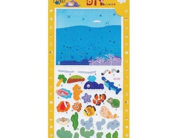 Deep Sea 3D Build-It Sticker Kit (fdp3dbuilditdeepsea)