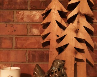 Cedar trees - home decor - christmas - rustic