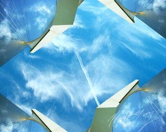 Digital Art Print - 'Heavenly Skies'