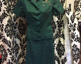 60's Senior Girl Scout Uniform