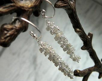Diamond Earrings,Diamond Dangle Earrings,Dangle Earrings,Gemstone Earrings,Diamond Cluster Earrings,Diamond Hanging Earrings,Diamond Hoop