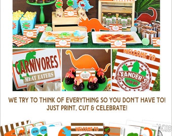 Dinosaur party Etsy