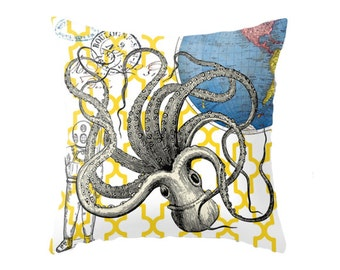 Giant octopus pillow Etsy