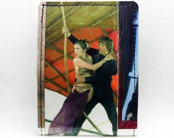Star Wars Storybook Wallet - Slave Leia - Princess Leia and Luke Skywalker - Return of the Jedi