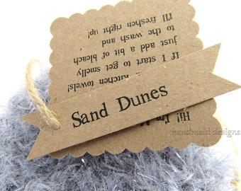 Kitchen Scrubby TRIO~Sand Dunes~Reuseable Scrubbie~Pot Scrubby~Green Living~handmade scrubby~Kitchen Cloth~Scrubby Pad