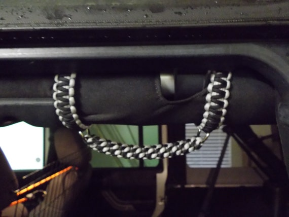 Paracord Roll Bar Grab Handles Jeep Wrangler Jk Tj Yj Choose