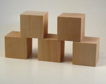 Wooden Blocks - 40 blocks 1.5 inches