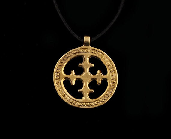 Viking sun cross pendant aloadofball Choice Image