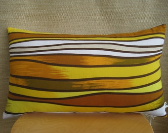 Cushion Cover, Retro, Vintage, Yellow, Autumn