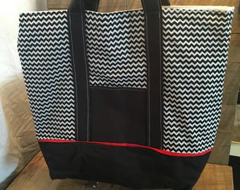 Chevron Tote Bag