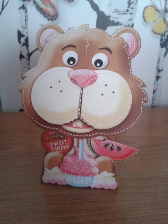Hamster Box Card 3D Card Birthday Card Boyfriend Birthday