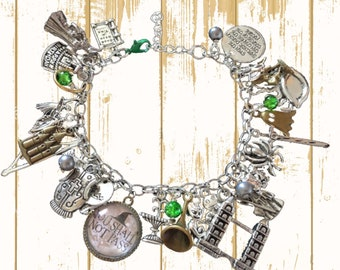 Luxury Lord of the Rings Womens Charm Bracelet