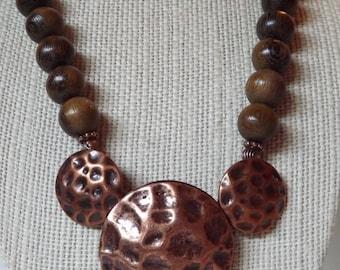 Bold Copper Necklace