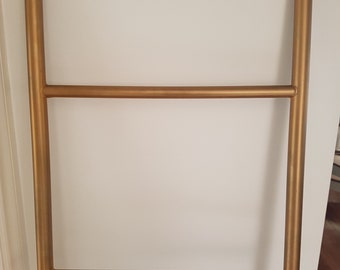 Ladder Brass plated iron 160cm x 45cm (Used - reasonable condition)