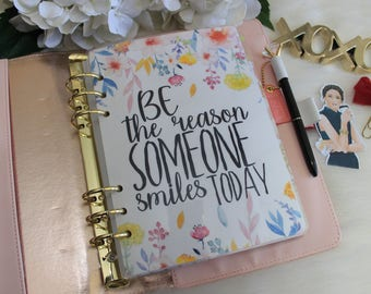 Be The Reason, A5 Planner Dashboard