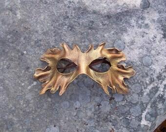 Gold Leaf mask