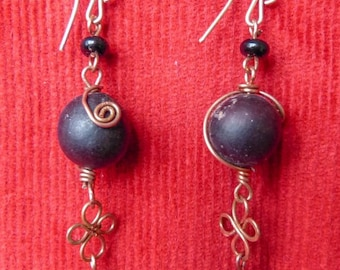 balls earrings