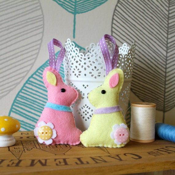 Make your own felt easter collection kit easter decorations make your own felt easter collection kit easter decorations sewing pattern easter gifts easter tree negle Gallery