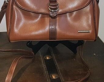 Vintage Liz Claiborne purse, cross body bag, shoulder bag, purse, Brown bag, vintage bag, vintage accessories, vintage fashion