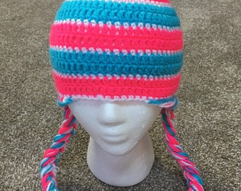 Childs striped hat!
