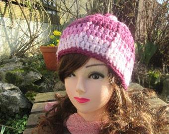 Crochet hat, crochet has Annette