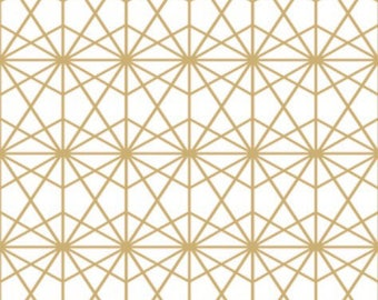 Gold Geo crib sheet // Gold Geo boppy cover // Gold Geo changing pad cover // Gold Geo crib skirt