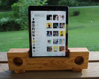 Oak Passive Speaker for Tablets/iPad