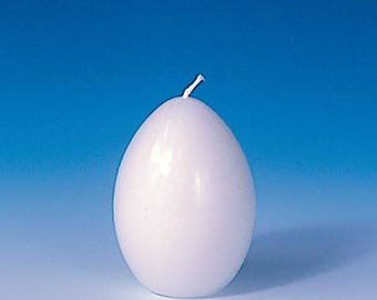 Egg-shaped candle mould 47 mm | Candlemaking molds, candle plastic molds, candle making supplies | Plastic candle molds, egg-shaped candles