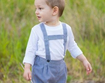 Toddler's German Shorts PDF Pattern (size 12-18 months)