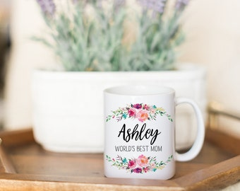 Mothers Day Gift Mom Birthday Gift Mom Gift Mom Mug Present for Mom Gift For Mom From Daughter From Son to Mom Worlds Best Mom Coffee Mug