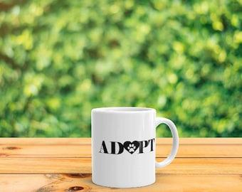 Adopt (Pet) Mug