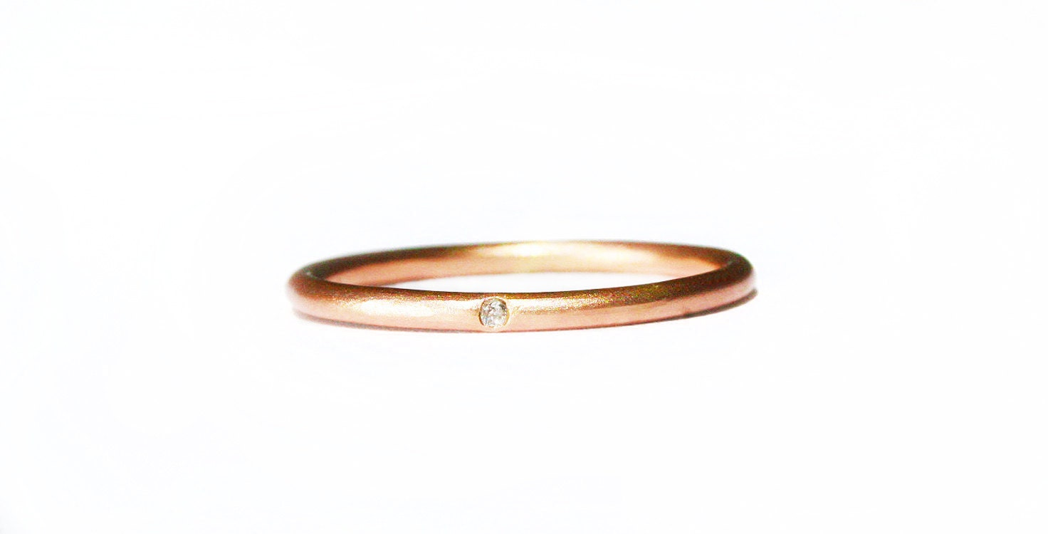 pave thin rose fullxfull band rings simple halo ring gold wedding listing il diamond enhancer