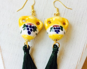 Sicilian earrings
