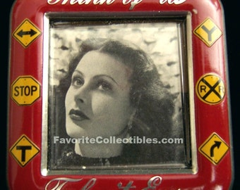 50s Stars Mini Frames Lana Turner, Glenn Ford, Hedy Lamarr 3 Piece Set OOAK Movie Memorabilia FavoriteCollectibles