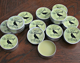 Witchcraft Tattoo balm- 100% natural vegan tattoo aftercare