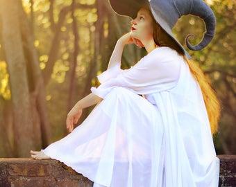 Costume Hat. Witch Hat. Wizard Hat. Fantasy Hat. Cosplay Hat. LARP.