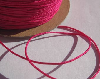 1 m of thread for jewelry, cotton and polyester 1 mm thick approximately (61)