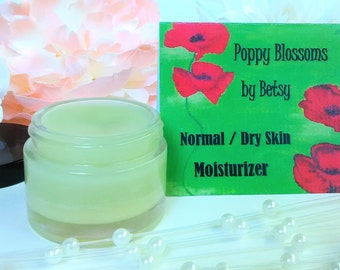 Organic NORMAL to DRY Skin Moisturizer