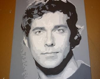 Zachary Levi Painting