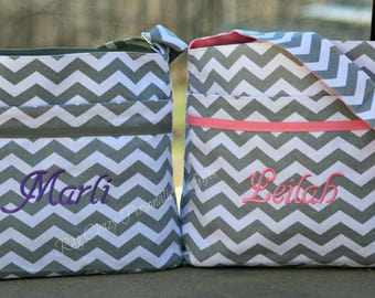 Diaper Bag, Chevron Diaper Bag, Personalized Diaper Bag, Baby Boy Diaper Bag, Baby Girl Diaper bag, Monogrammed Baby