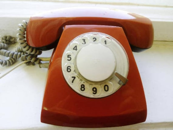 Retro Vintage PhoneVintage Home Phone 80s Office Decor
