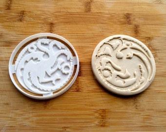 Game of Thrones Cookie Cutter - Targaryen Sigil